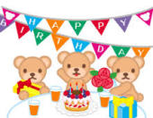 お誕生日会を開催します。